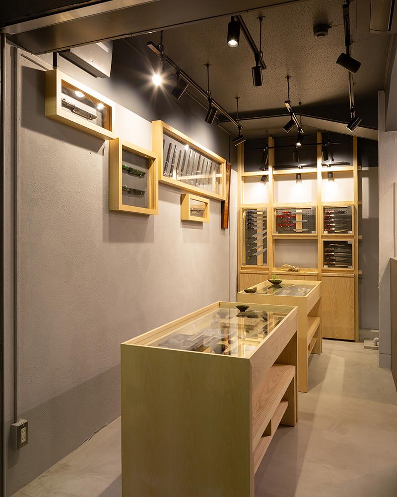 子の日 築地店奥館 展示風景